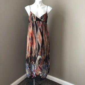 Dresses & Skirts - Boho sleeveless maxi dress, multicolor